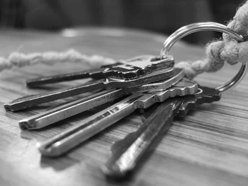 Povestea suportului pentru chei