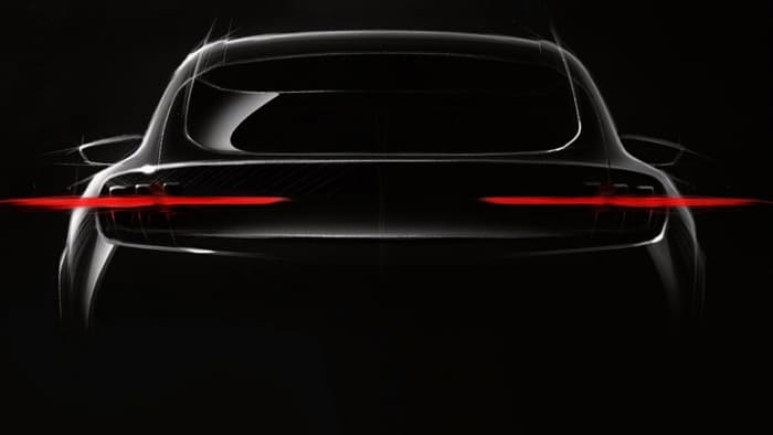 imagine teaser a noului SUV electric Ford